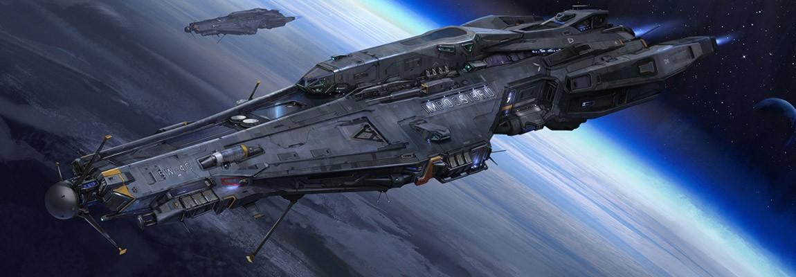 The Sci-Fi Concept Art of Steve Chinhsuan Wang