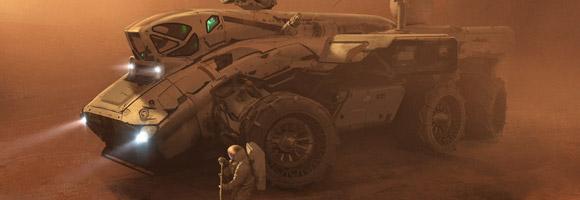 Erik van Helvoirt – Sci-Fi Concept Artist