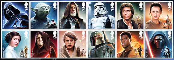 The Star Wars Stamps You've Been Looking For…