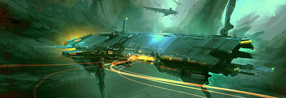 The Futuristic Art of Daniel Graffenberger