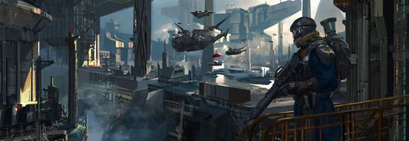 The Sci-Fi Art of Yap Kun Rong