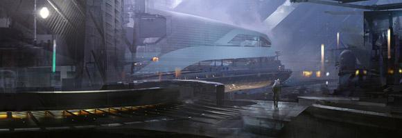 The Sci-Fi Concept Art of Michael Pedro