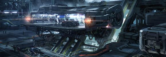 Sci-Fi Concept Artist – John Wallin Liberto