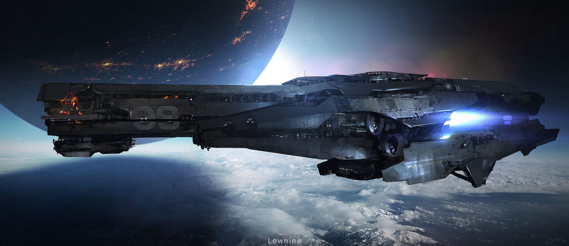 The amazing sci fi concept art of lownine digital artist - Amazing small spaces concept ...