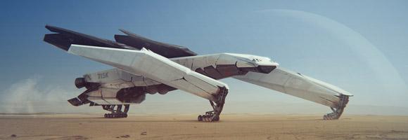 The Sci-Fi Concept Art of Ivan Tantsiura