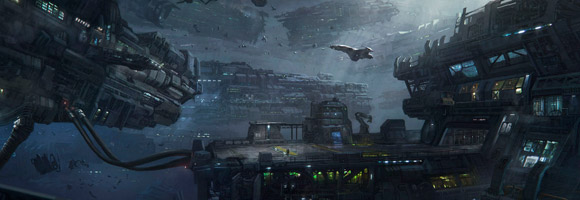 The Sci-Fi Concept Art of Dennis Chan