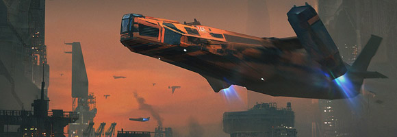 The Science Fiction Art of Marco Gorlei