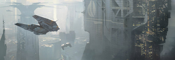The Science Fiction Art of Martin Deschambault