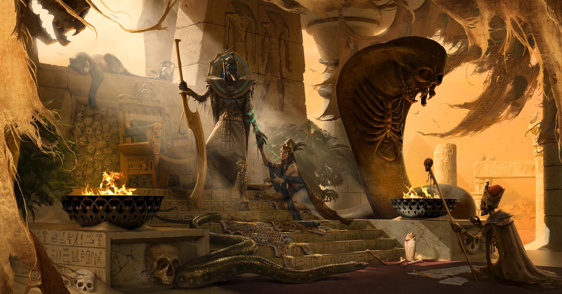 Image result for egyptian fantasy art