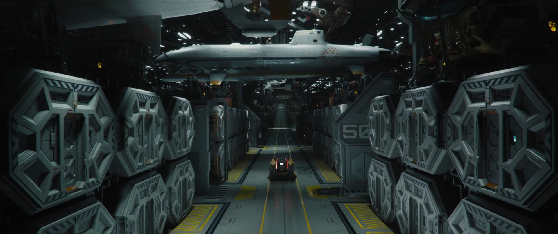 Stunning first trailer for sci fi epic passengers sci fi for Passengers spaceship