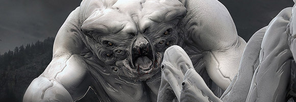 The 3d Creature Art of Andrea Chiampo