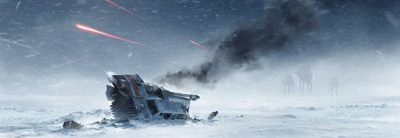 Star Wars Battlefront Art by Anton Grandert