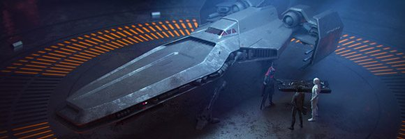 The Science Fiction Art of Pete Norris
