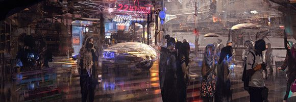 The Sci-Fi Concept Art of Wadim Kashin