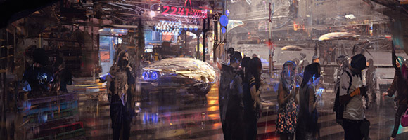 The Sci-Fi Concept Art of Wadim Kashin