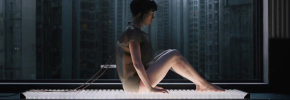Stunning First Ghost In The Shell Trailer