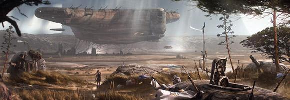 The Sci-Fi Art of Romain Jouandeau