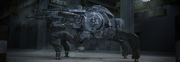 The Super Impressive Mech Art of Gavriil Klimov