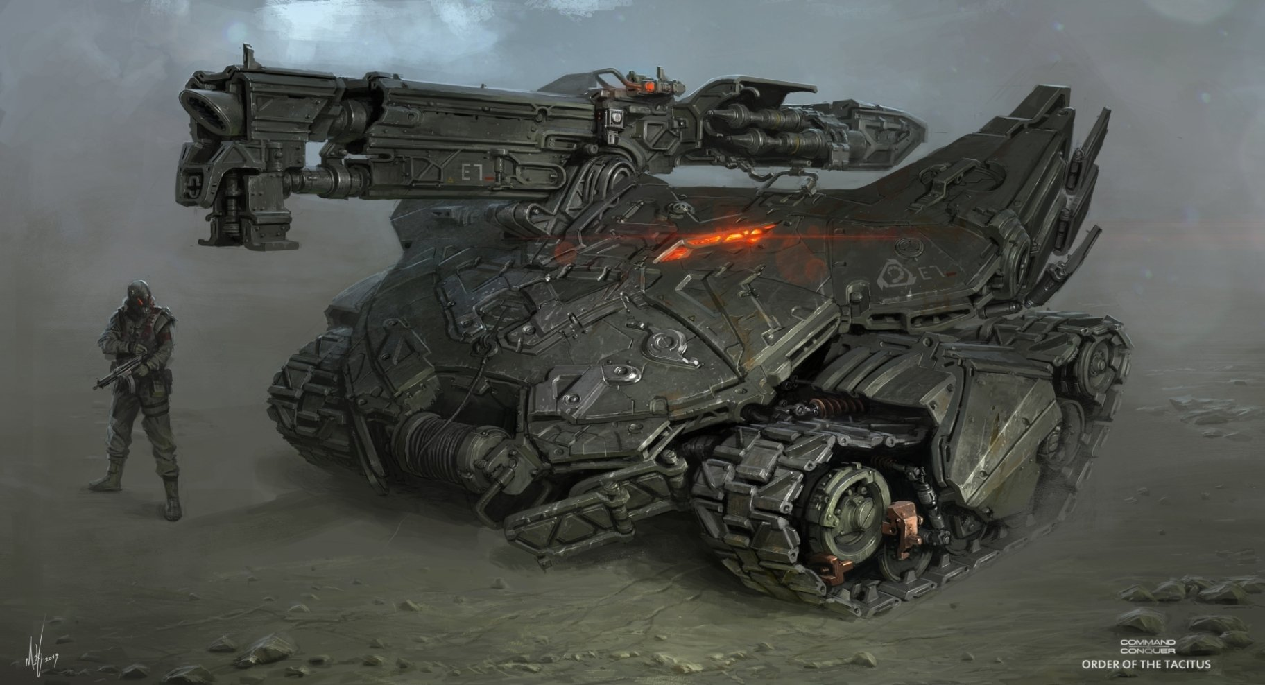 The Superb Sci-Fi Creations of Michal Kus