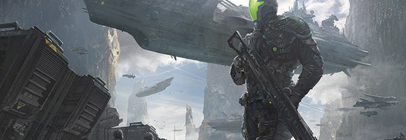 The Science Fiction Art of Shawn Kim