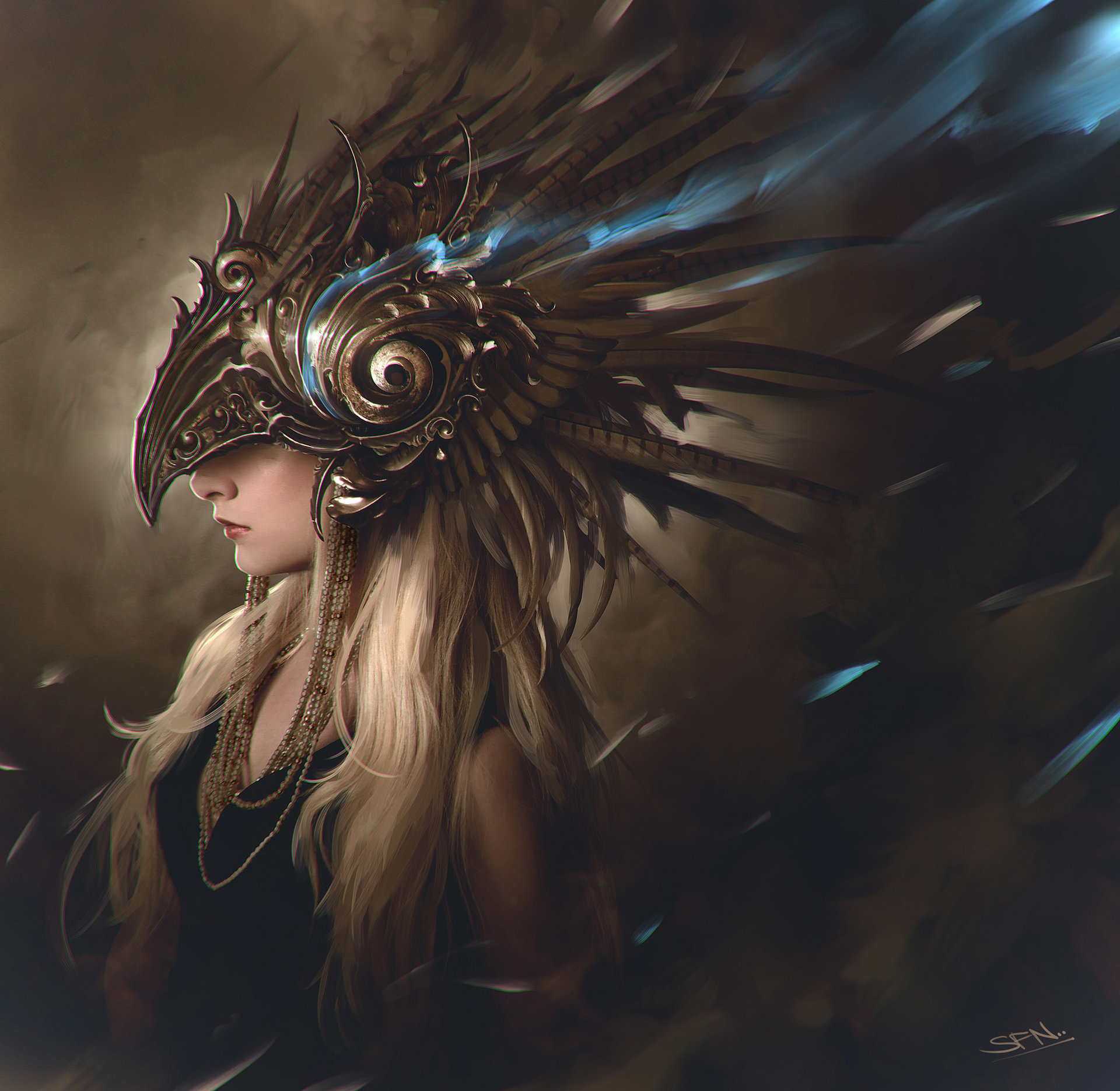 The stunning digital art of idrassi soufiane fantasy artist for Cool fantasy drawings