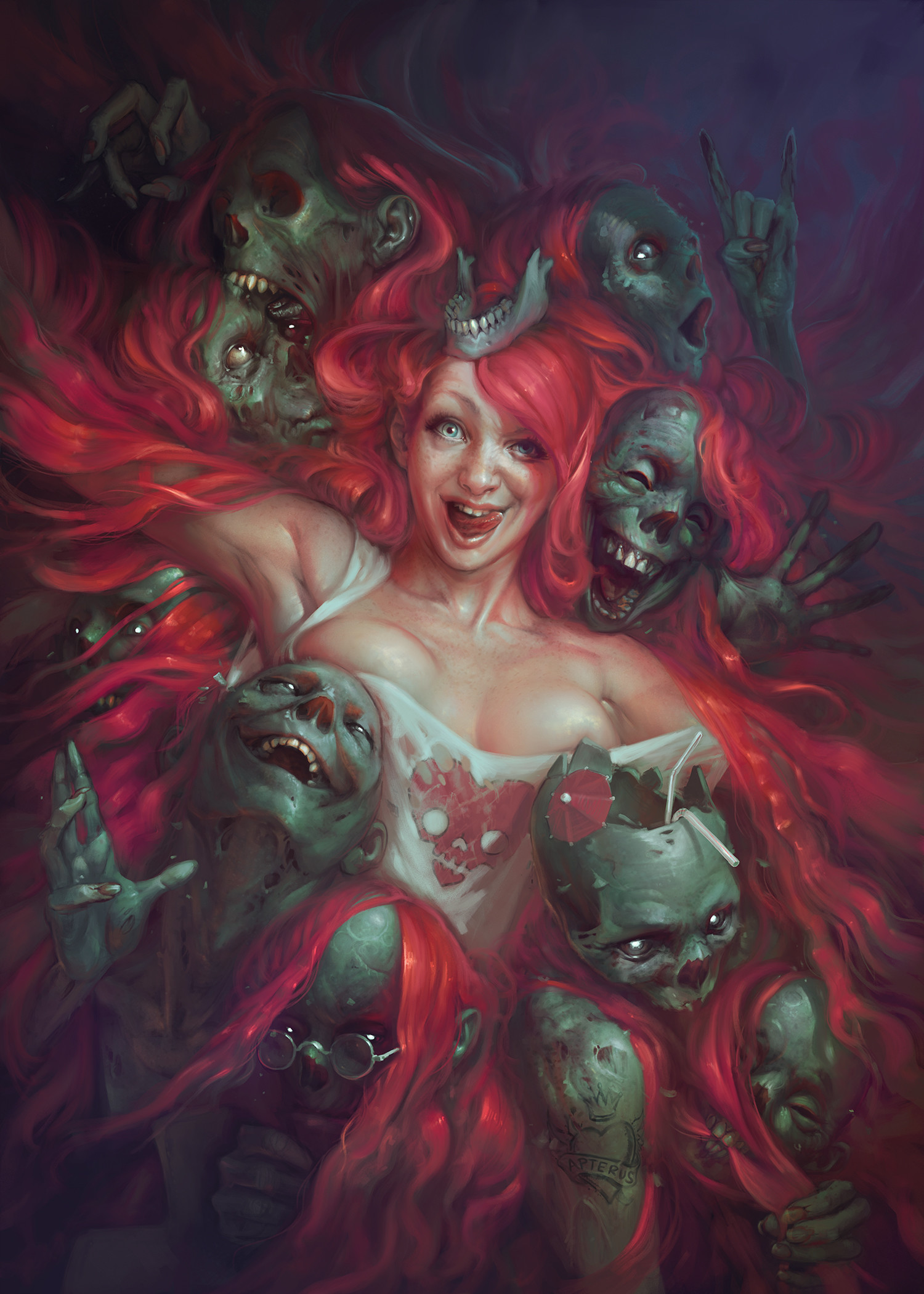 the amazing dark fantasy art of sabbas apterus digital artist