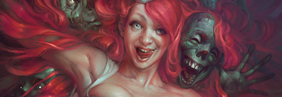 The Dark Fantasy Art of Sabbas Apterus
