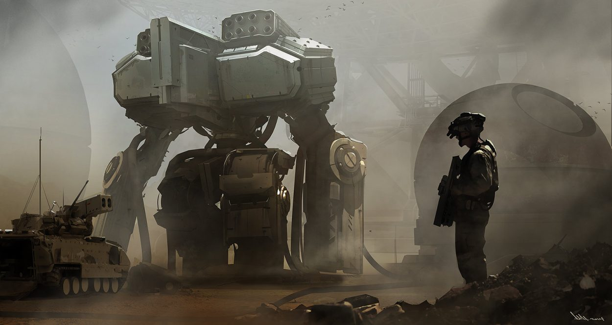 The Stunning Sci-Fi Art of Mathieu Latour-Duhaime
