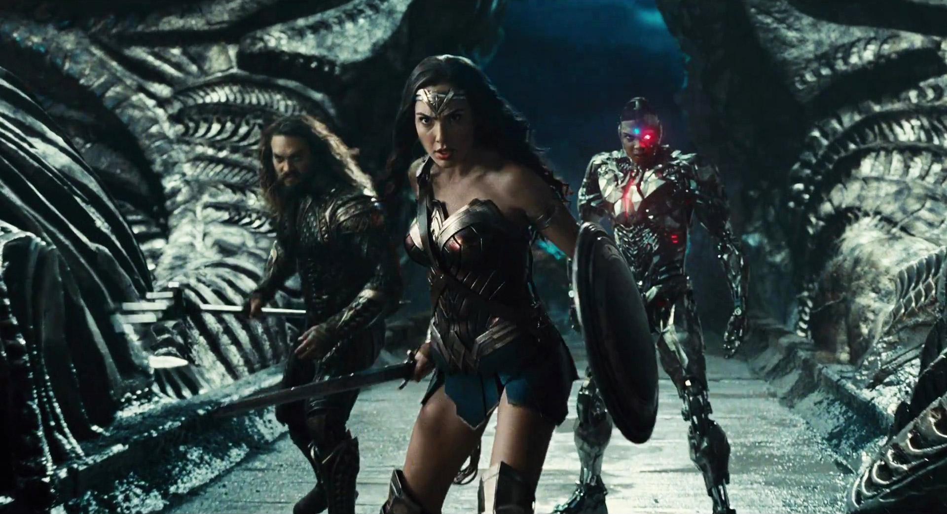 justice league official trailer dc comic book movie