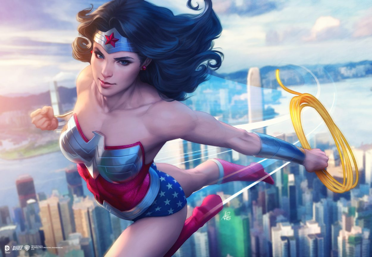 The Stunning Character Art of Artgerm