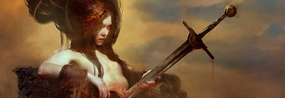 The Fantasy Art of Bastien Lecouffe Deharme