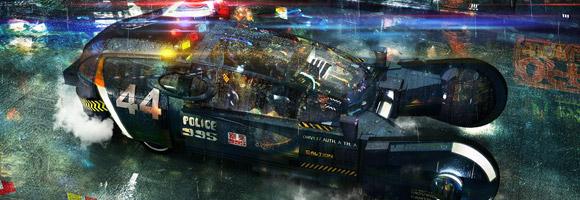 The 3d Sci-Fi Art of Daniel J Burns