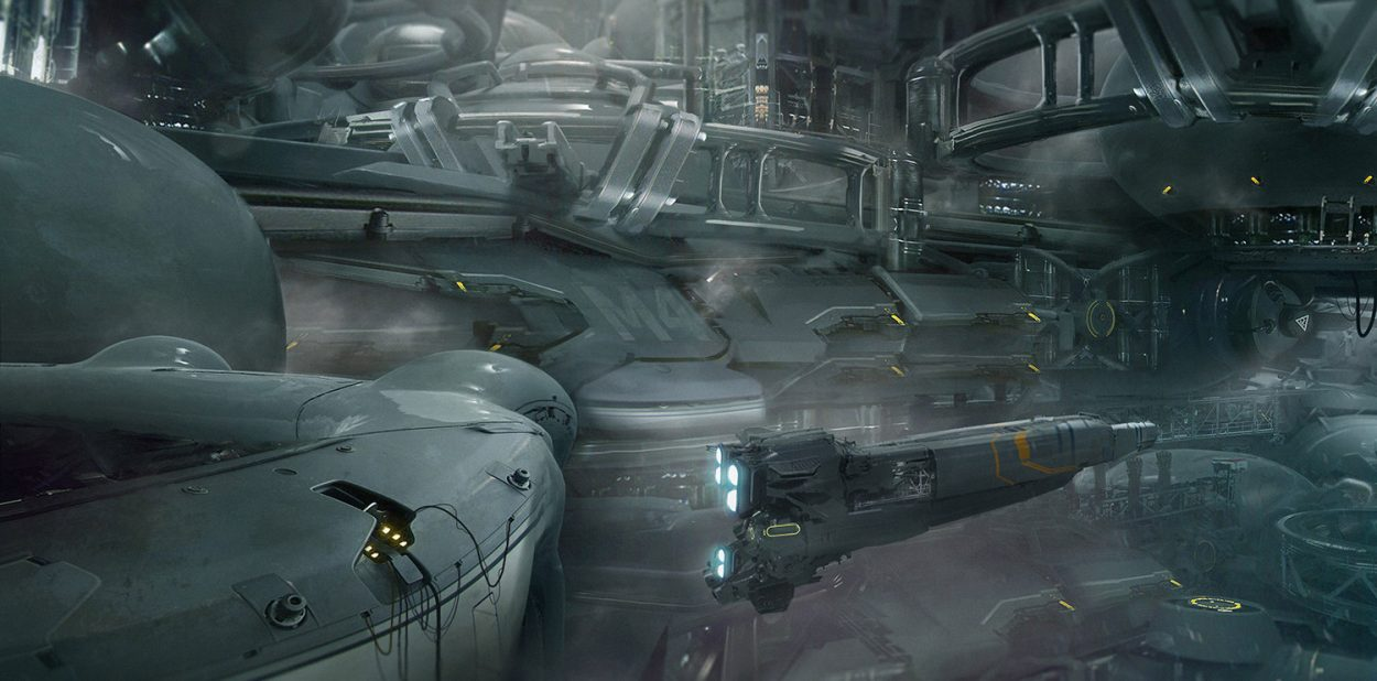 The Sci-Fi Concept Art of Dmitry Vishnevsky