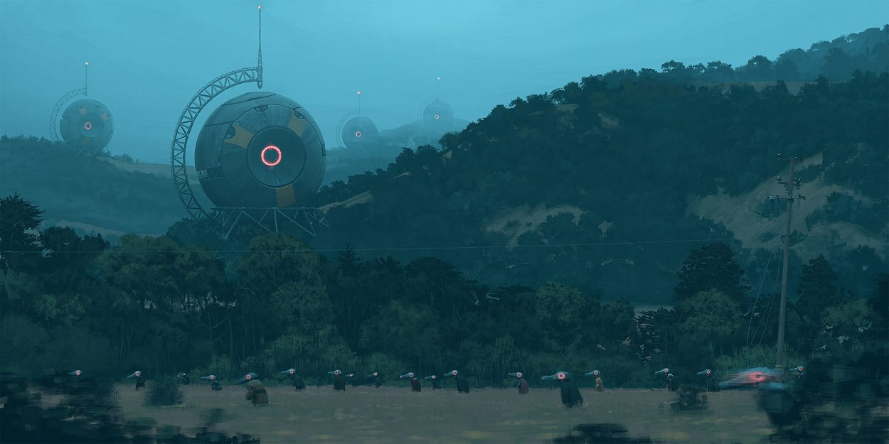 The Amazing Sci-Fi Art of Simon Stålenhag