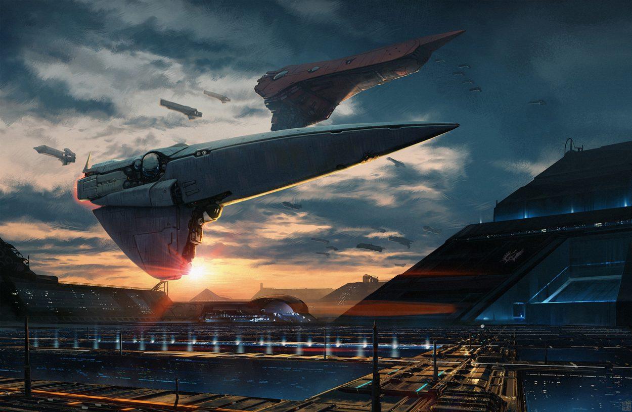 The Sci-Fi Artworks of Lorenz Hideyoshi Ruwwe