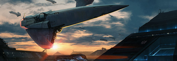 The Sci-Fi Artworks of Lorenz Hideyoshi Ruwwe