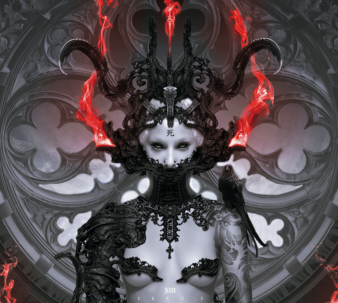 The Stunning Digital Artworks of Nekro