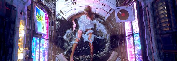 The Digital Sci-Fi Art of Federico Pelat