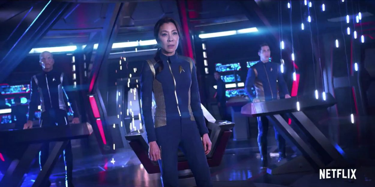 Action Packed Trailer for Star Trek: Discovery