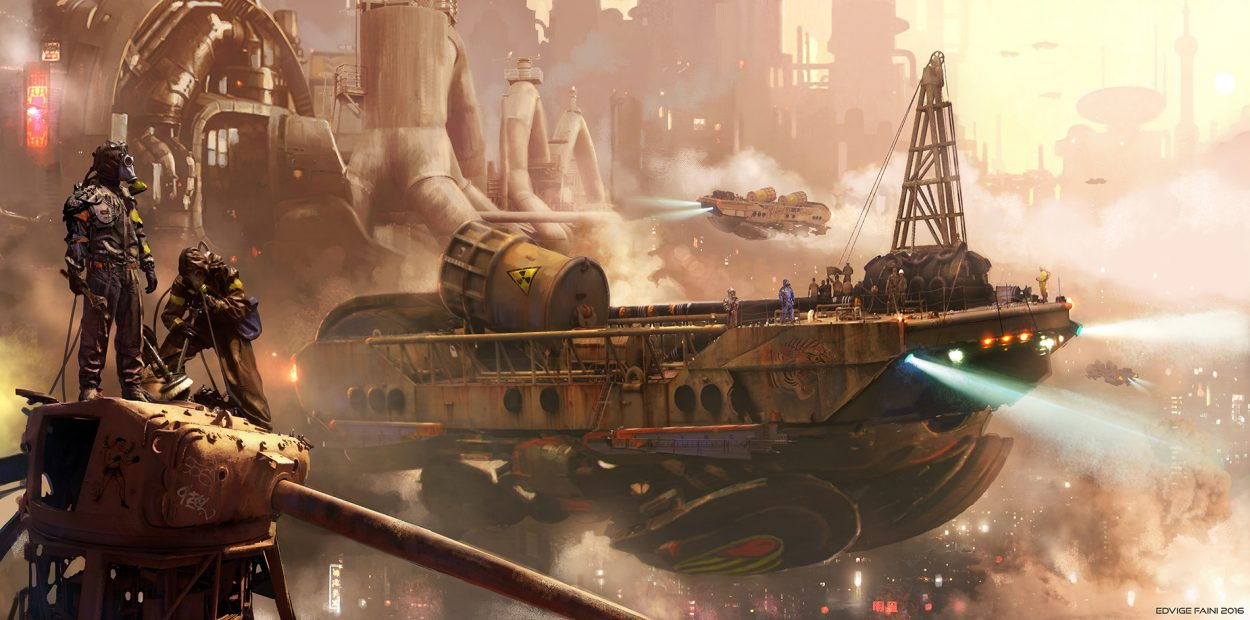 The Science Fiction Art of Edvige Faini