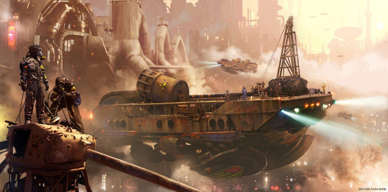 The Science Fiction Art of Edvige Faini