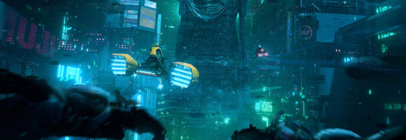 The Science Fiction Art of Daniel Liang