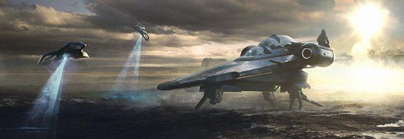 Superb Sci-Fi Art by Sorane Mathieu