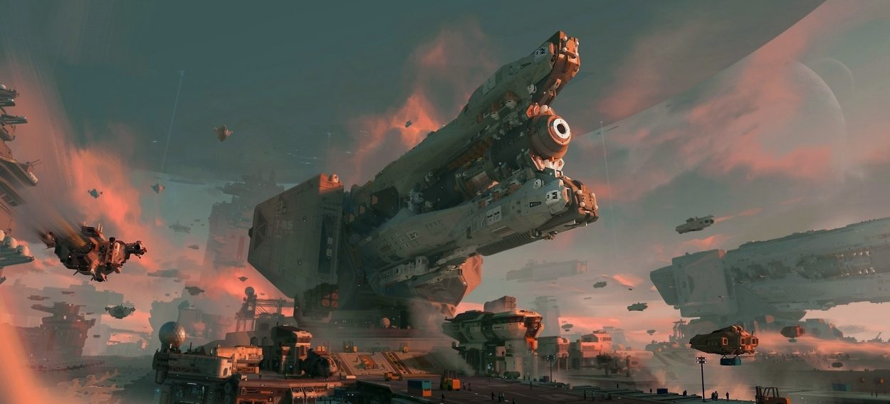 The Impressive Sci-Fi Art of Chenxi Kang