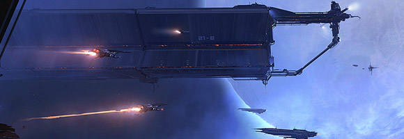 The Science Fiction Art of Georg Hilmarsson