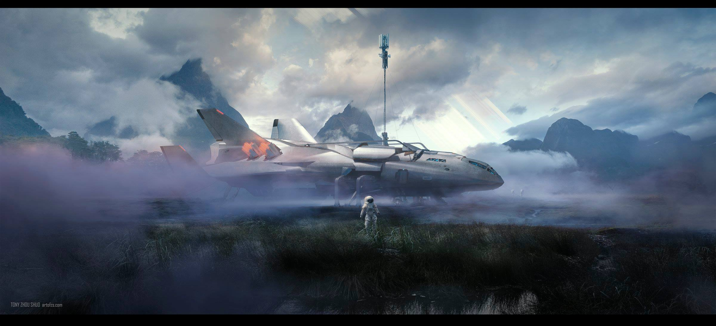 Amazing Sci-Fi Artworks by Tony Zhou Shuo