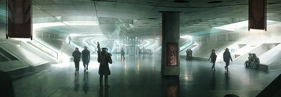 The Futuristic Sci-Fi Art of Sebastien Hue