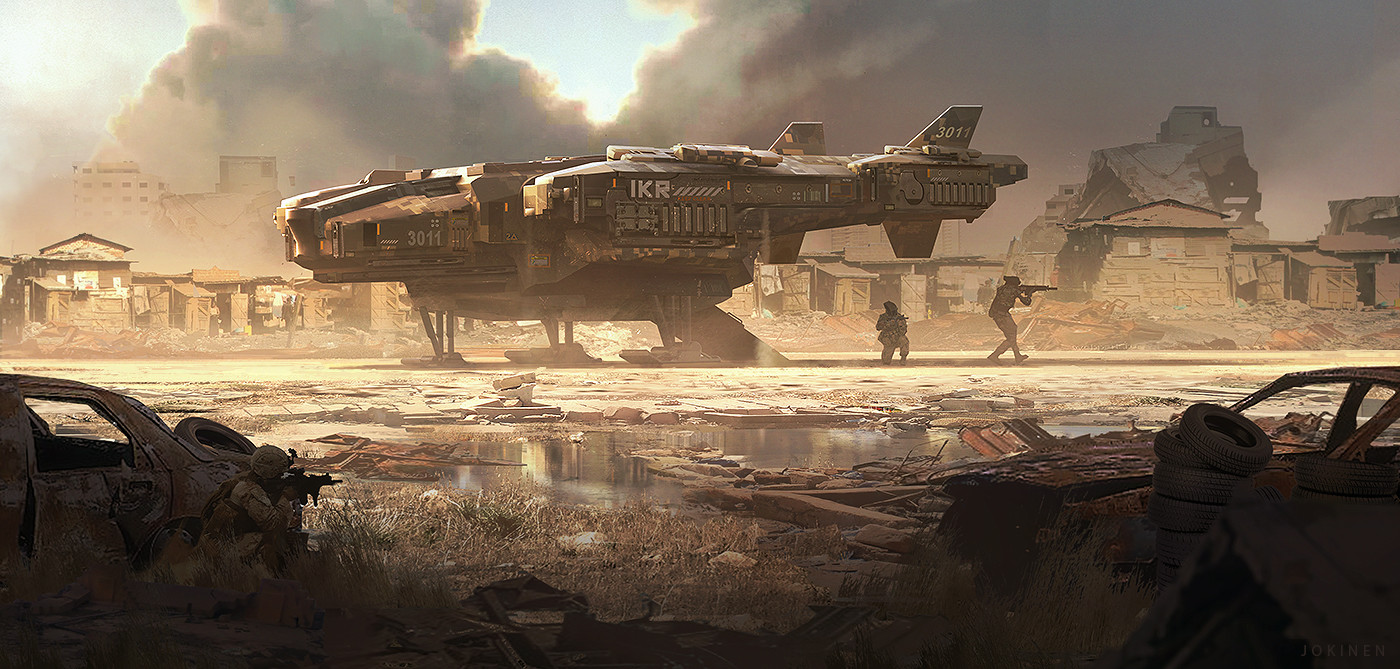 The Superb Science Fiction Art of Juhani Jokinen