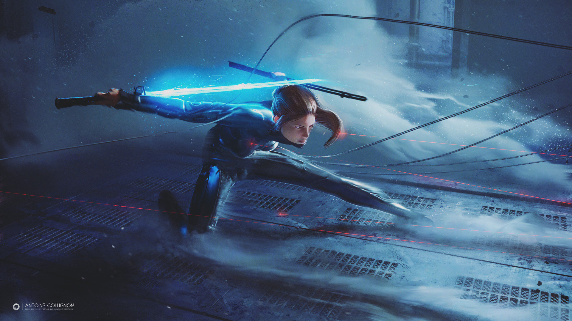 The Superb Digital Art of Antoine Collignon