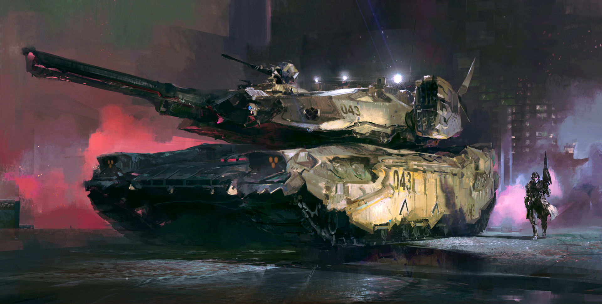 The Sci-Fi Concept Art of Hung-Wen Chang